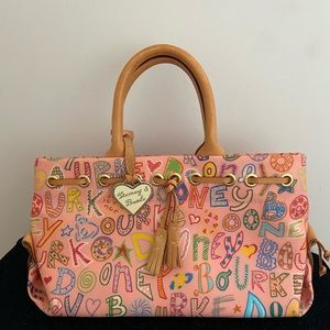 Adorable Dooney and Bourke multi color bag